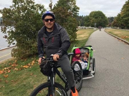 De bike, pelo Stanley Park