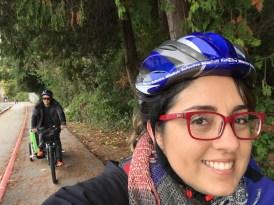 Passeio de bike pelo Stanley Park