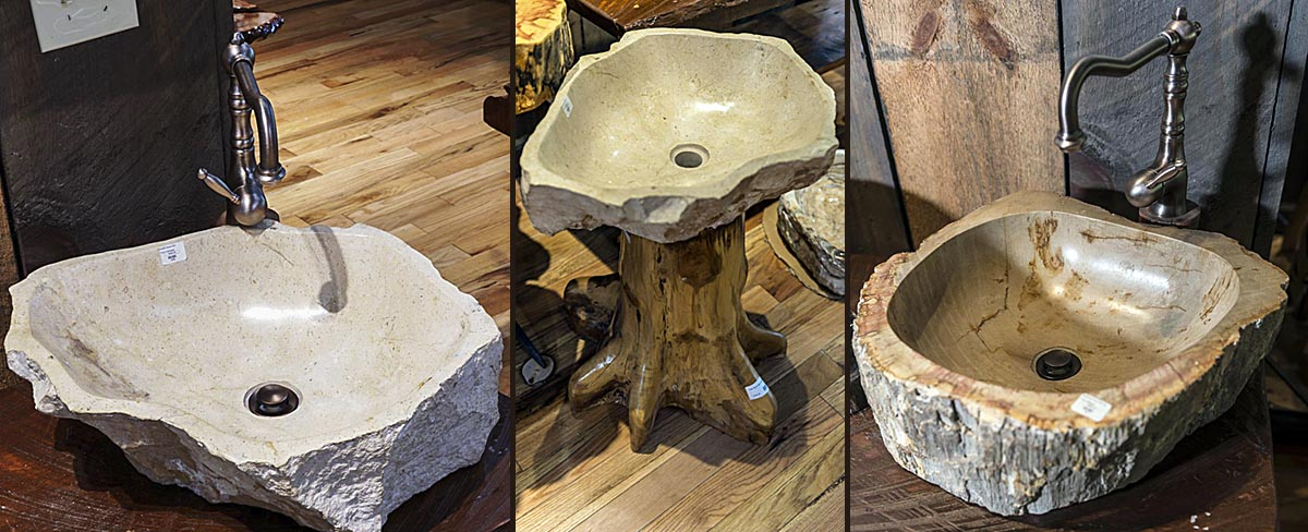nature-made sinks