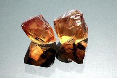 citrine mineral sample