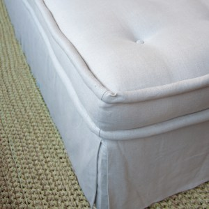 Mattress Ottoman Detail