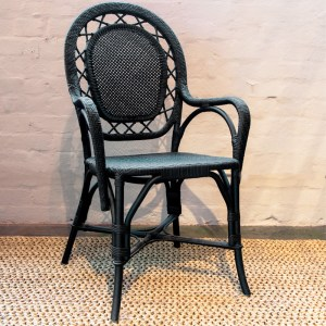 Romantica Chair Black