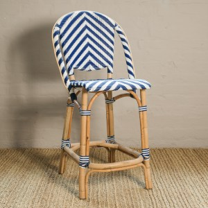 Chevron Counter Stool