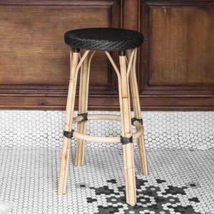 Simone Stool Black