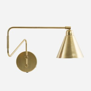 Game Wall Lamp Double Arm Brass