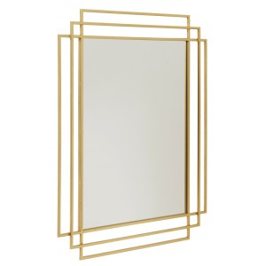 Deco Mirror Gold