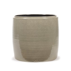 Grey Flower Pots in Various Sizes