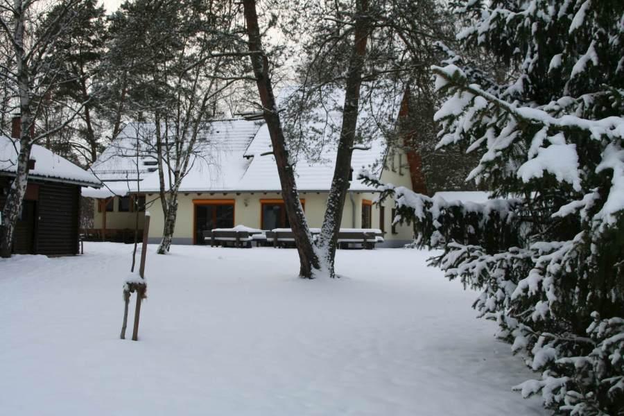 Außenansicht Selbstversorgerhaus im Winter