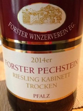 2014 Pechstein, Forster Winzerverein