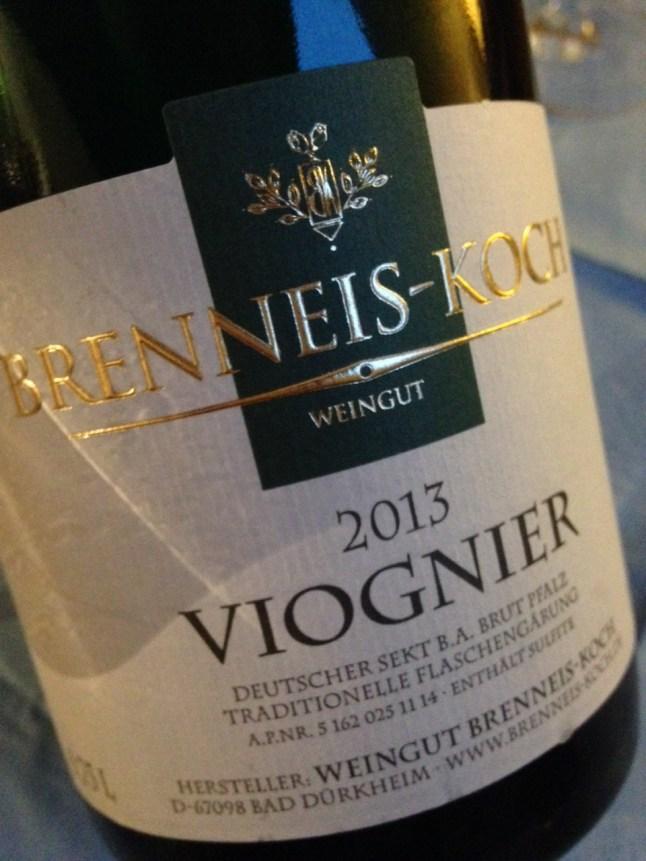 2013 Viognier Brut, Brenneis-Koch