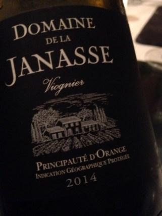 2014 VdPays d'Orange Viognier, Dom.d l Janasse