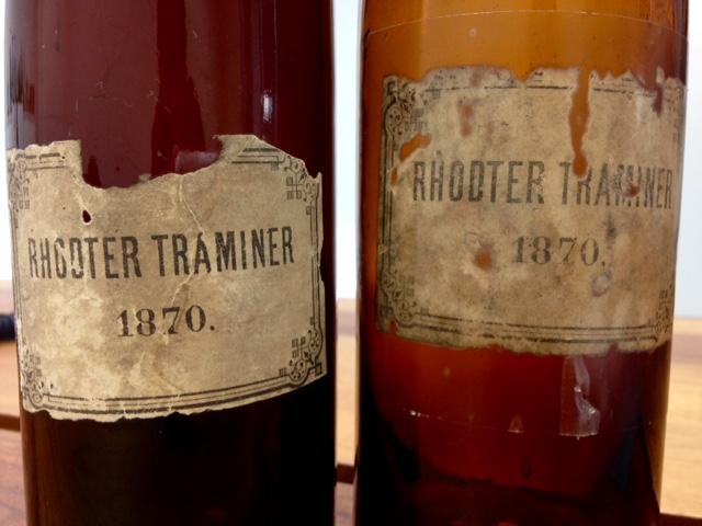 Rhodter Gewürztraminer von 1870