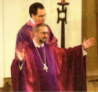 Dachsegnung durch den Erzbischof