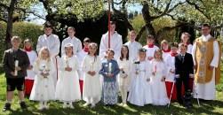 Erstkommunion in Aufkirchen am 30.April 2017