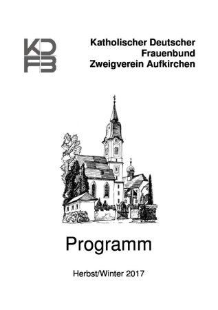 Das aktuelle Programm erhalten Sie bei Eva Schickhaus.
