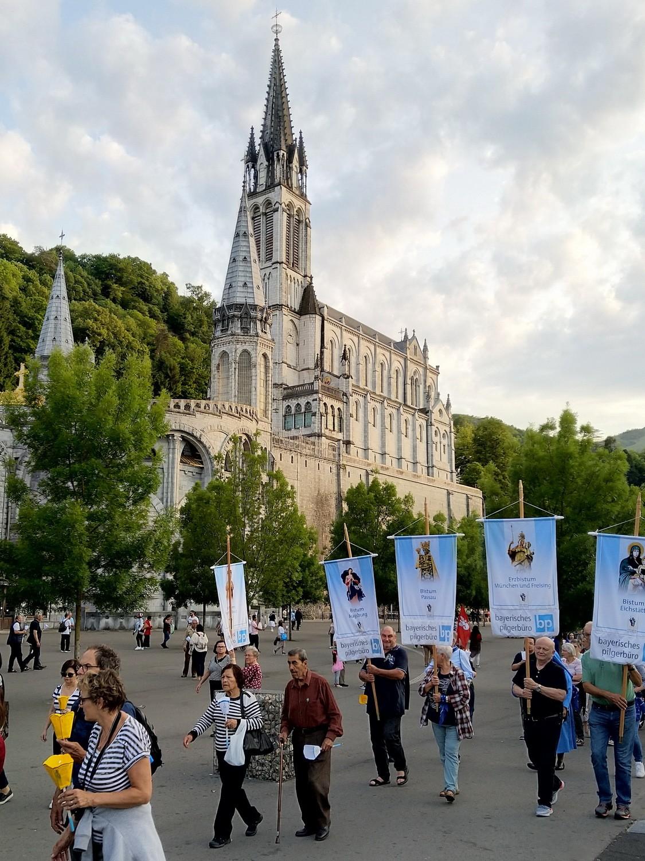 Lourdes-Pilger sind zurück