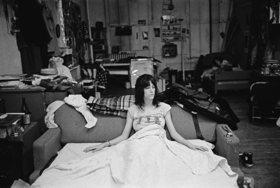 Patti Smith when she was young herself