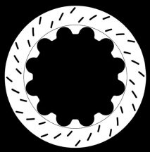 PFC slotted disc