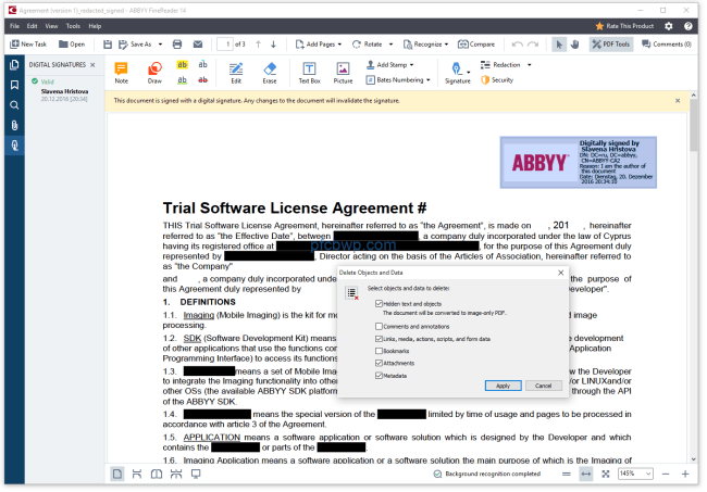 ABBYY FineReader 14 Activation With Keygen For Windows /Mac