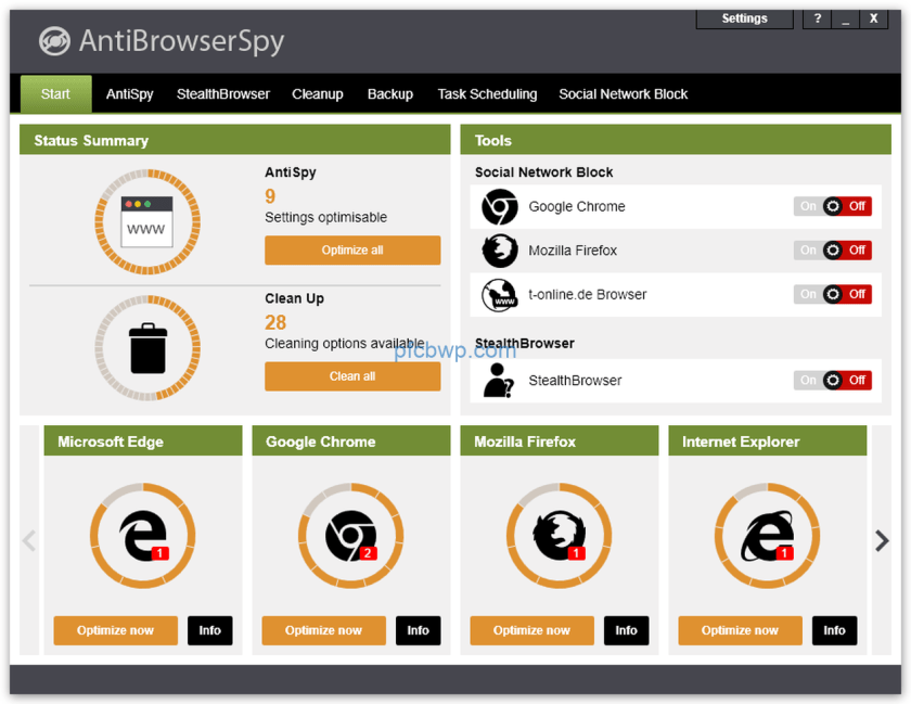 AntiBrowserSpy Pro 2020 Crack With Serial key Latest Version Download Free