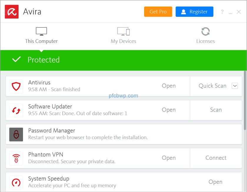 Avira Antivirus Pro 2020 Crack With &  license key