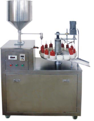 Anaerobic adhesive filling capping machine
