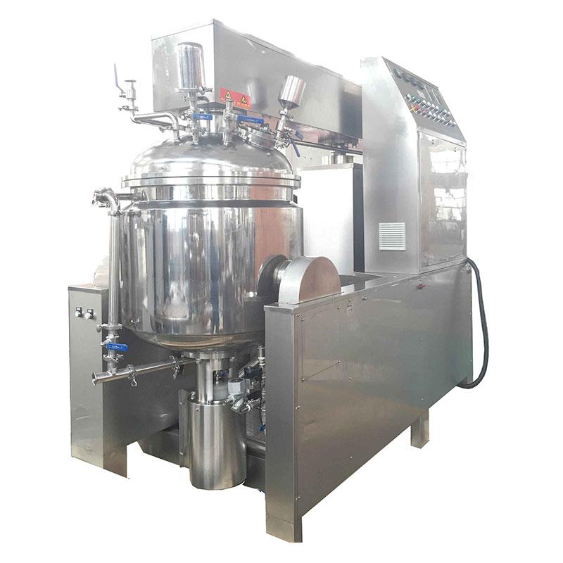 Bottom homogenizer mixer