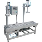 paint drum filling capping machine