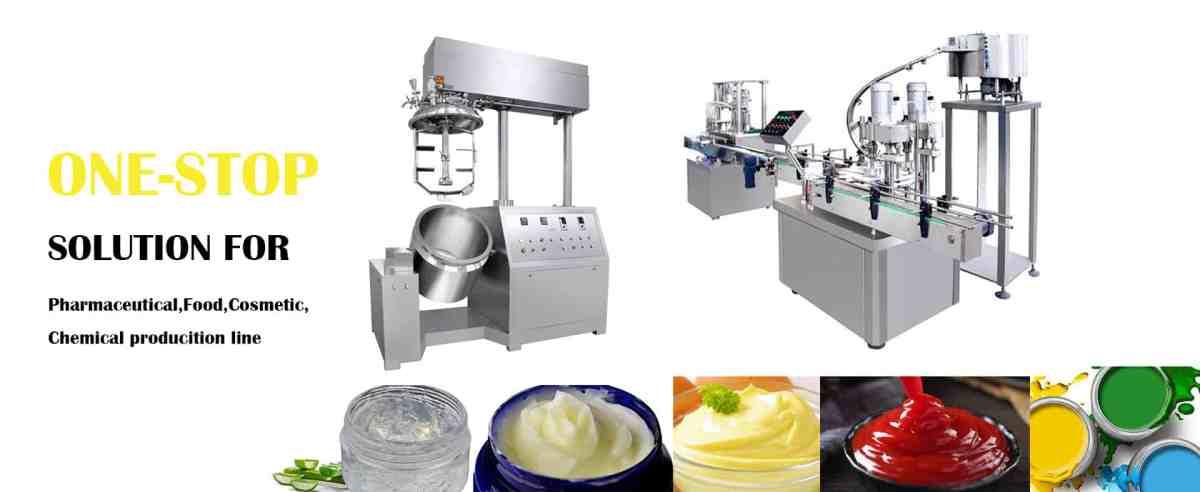 Vacuum Homogeneous Mixer