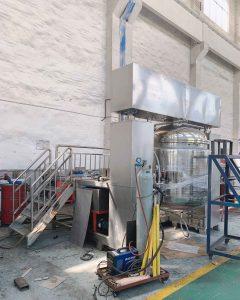 ZJR-1300 vacuum homogenizer mixer