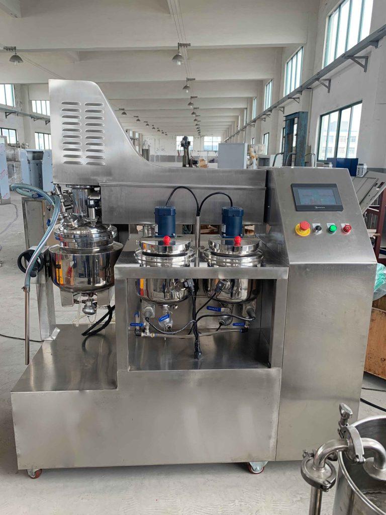 ZJR-10L cover lifting vacuum homogenizer mixer