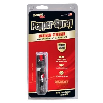 Pfefferspray Sabre Red mit Clip