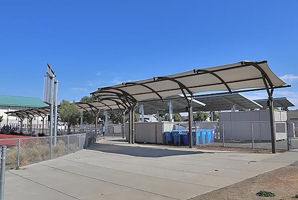 American Canyon Middle School | Covered Walkway