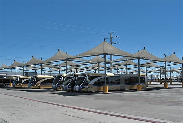 RTC Sunset Maintenance Facility | Canopies
