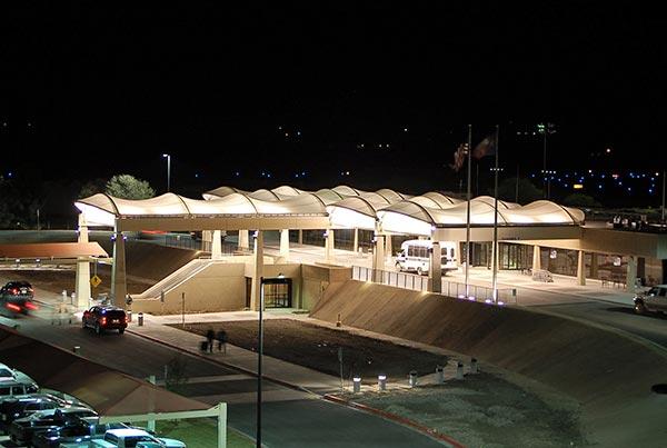 Abilene Regional Airport | Covered Entryway