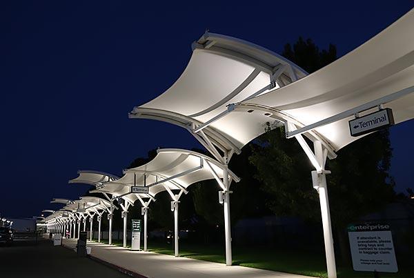 Fresno Yosemite International Airport | Covered Walkways