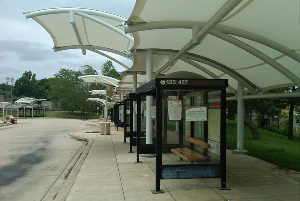 West Falls Church Metro Station | Covered Walkway