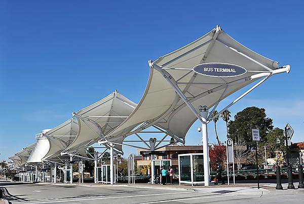 Vallejo Transit Center | Covered Walkway