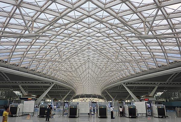 Guangzhou South Railway Station | ETFE Roof