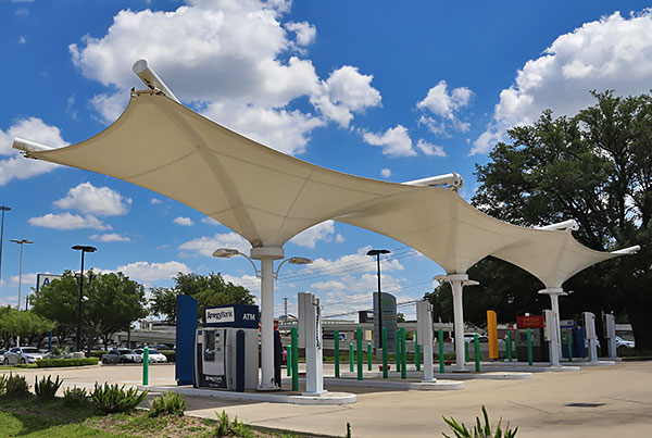 Flite ATM Banking Center | Commercial Canopy
