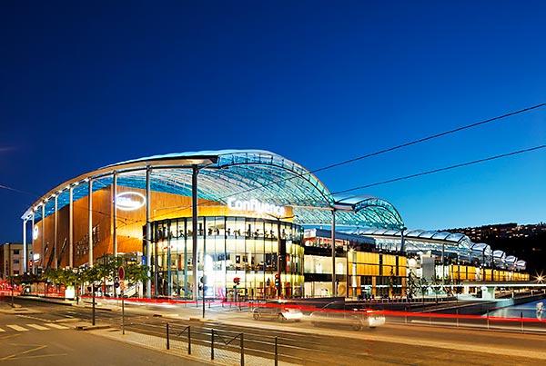 Centre commercial de Confluence | Commercial roof