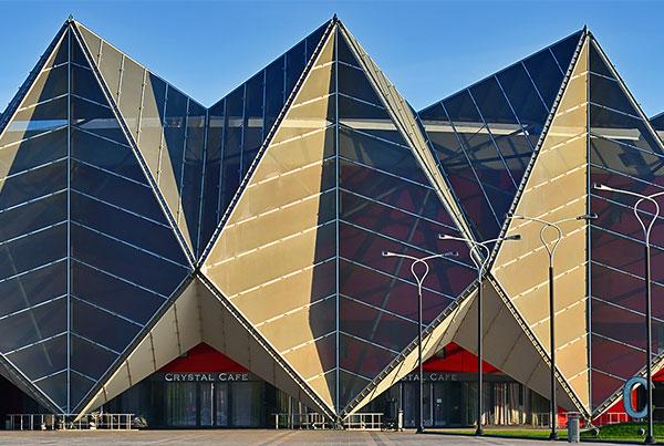 Baku Crystal Hall Façade | Tensile Façade