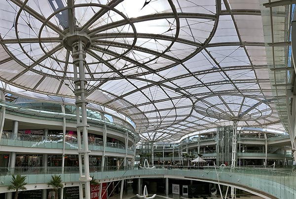 Abdali Mall | ETFE Roof Building Envelope