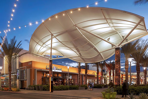Downtown Summerlin | Tensile Membrane Structures