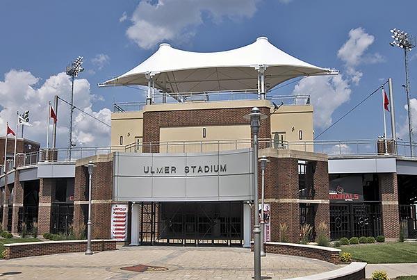 University Of Louisville Ulmer Stadium | Grandstand Structure
