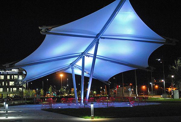 Cortex Commons Pavilion | Tensile Membrane Structure