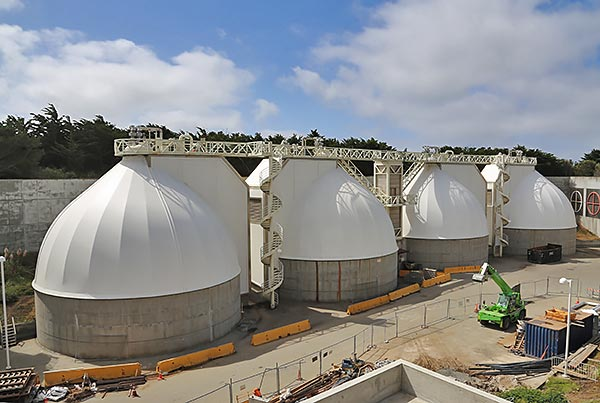 Oceanside Water Pollution Control Plant | Digester Cover