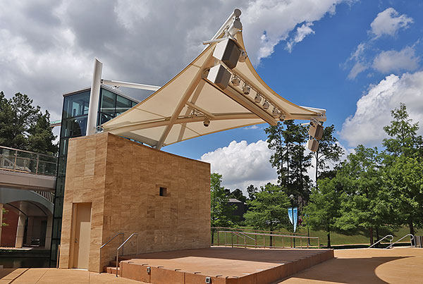 The Woodlands Waterway Square Stage | Amphitheater