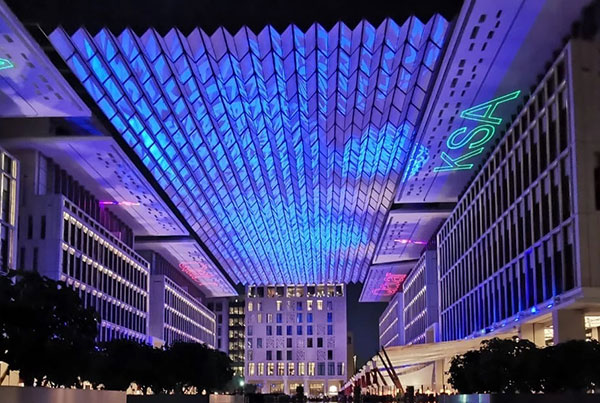 Barahat Square Msheireb | Kinetic Canopy