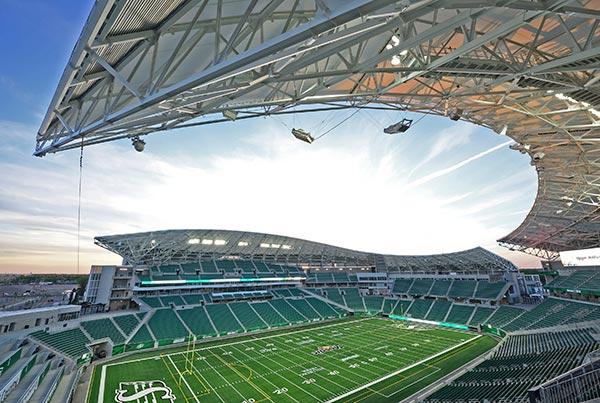 Mosaic Stadium | Grandstand Structure
